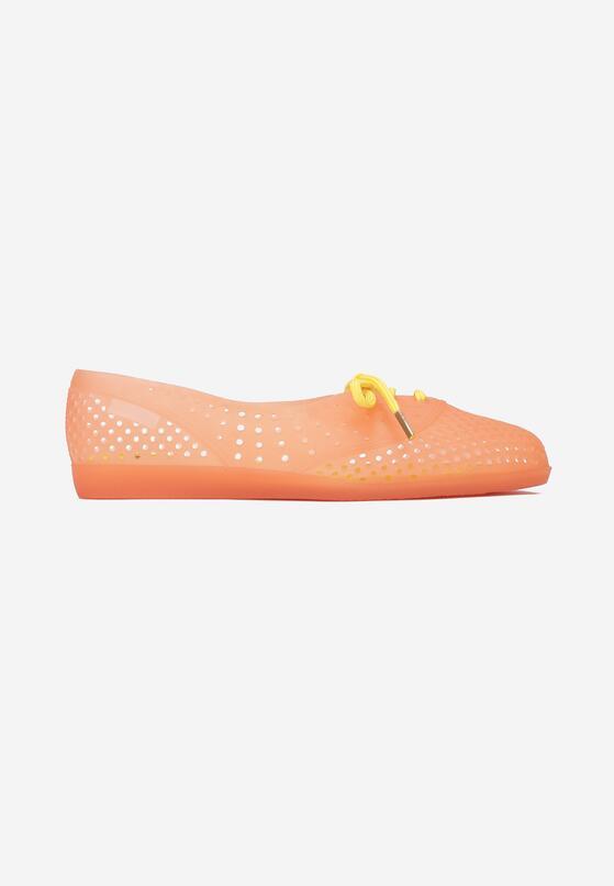Pomarańczowe Klapki Rhaeete