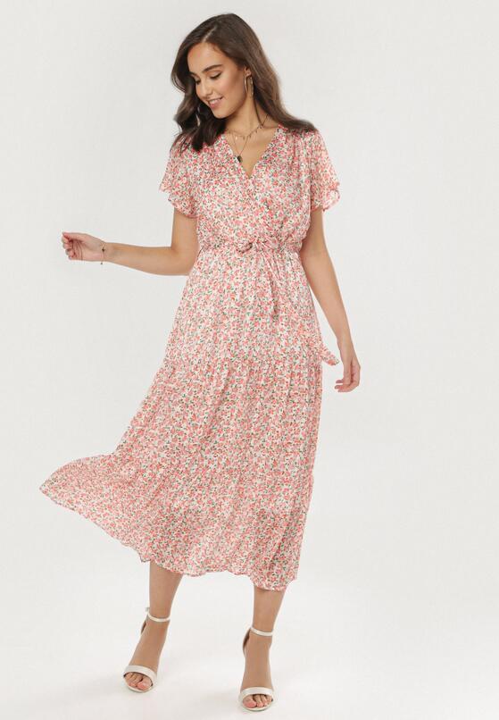 Różowa Sukienka Phiakharei
