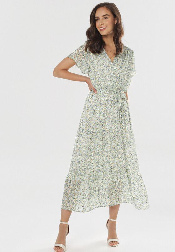 Zielona Sukienka Phiakharei