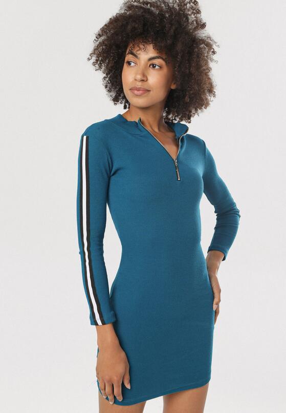 Niebieska Sukienka Nautigana