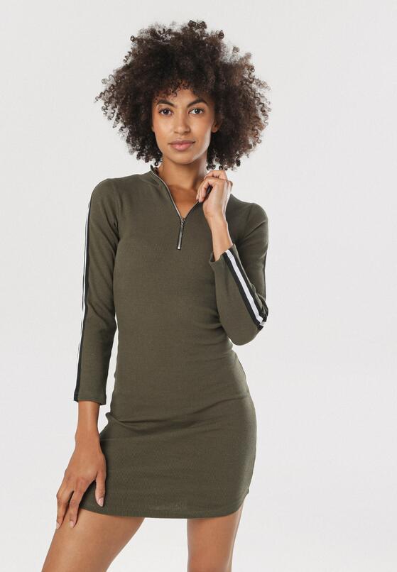 Khaki Sukienka Nautigana