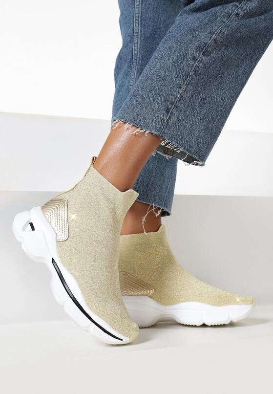 Złote Sneakersy Iphanassa