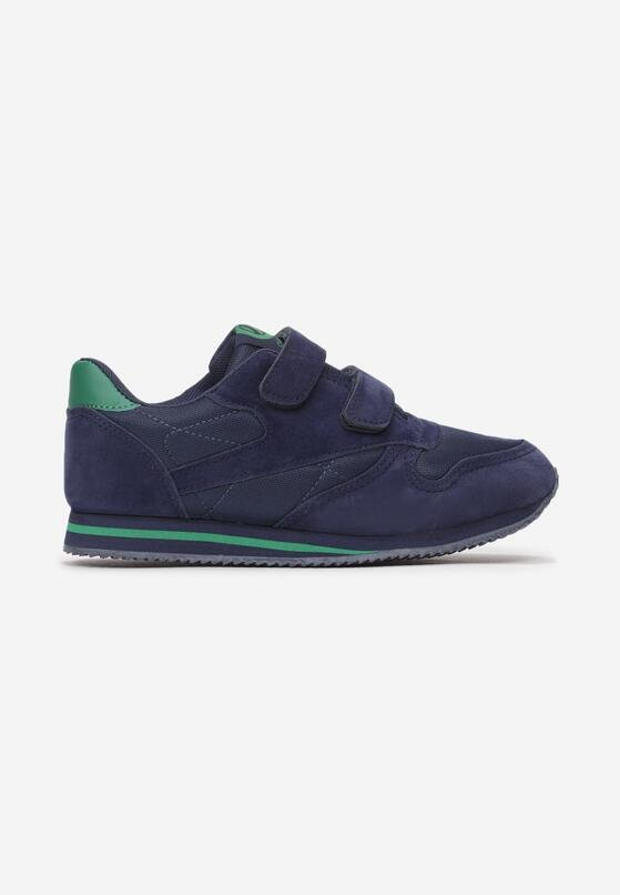 Niebiesko-Zielone Buty Sportowe Hymala
