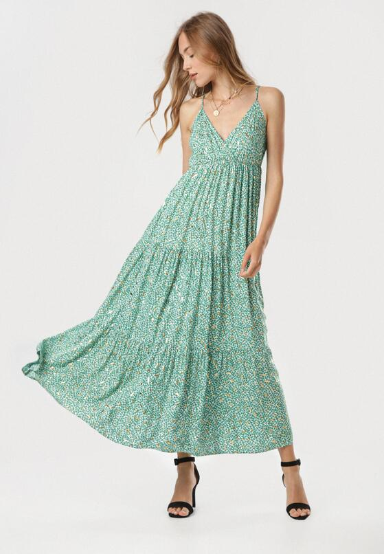 Zielona Sukienka Nephenos