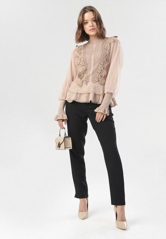 Beżowa Bluzka Arime