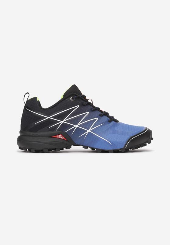 Niebiesko-Czarne Buty Sportowe Pheropise