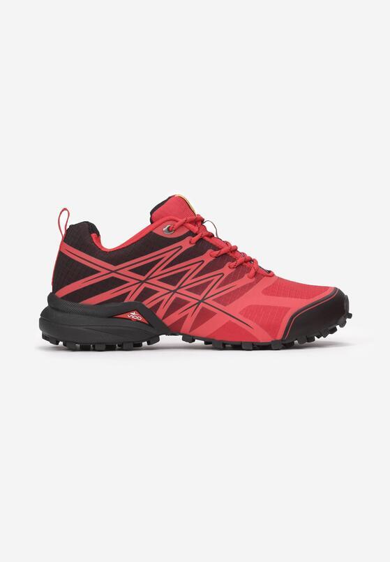 Czerwono-Czarne Buty Sportowe Pheropise