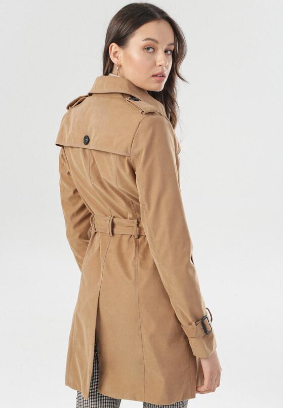Camelowy Płaszcz Rae
