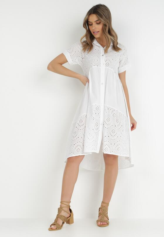 Biała Sukienka Manilla
