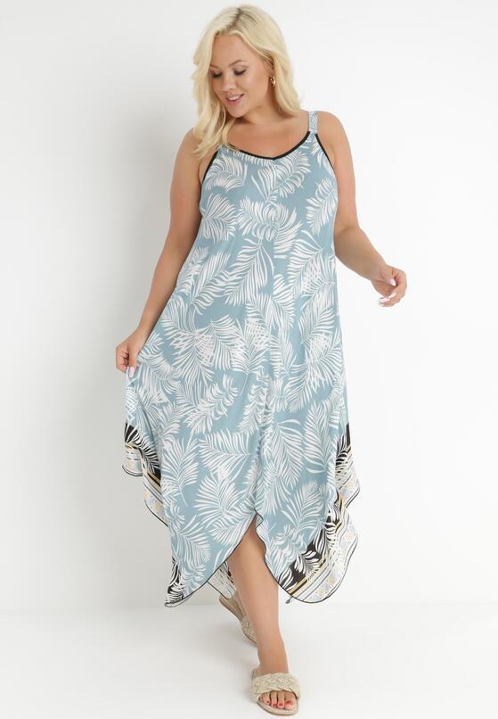 Jasnoniebieska Sukienka Adrelise