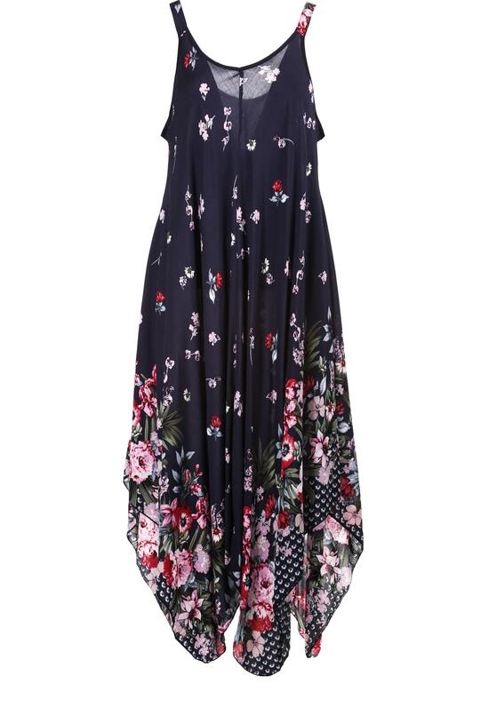 Granatowa Sukienka Nemedise
