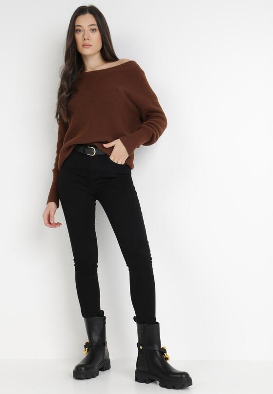 Czarne Spodnie Skinny Hireia
