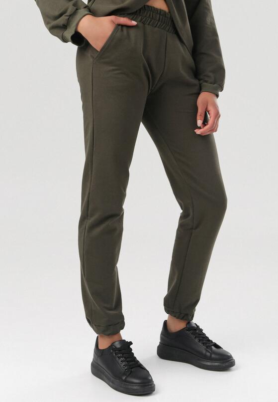 Khaki Spodnie Dresowe Felyera