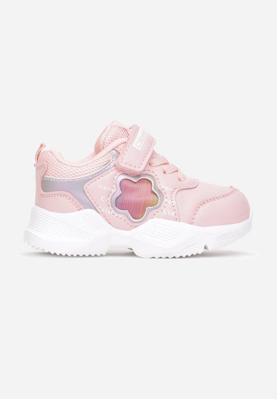 Różowe Buty Sportowe Feltia