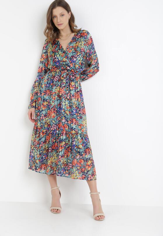 Granatowa Sukienka Danape