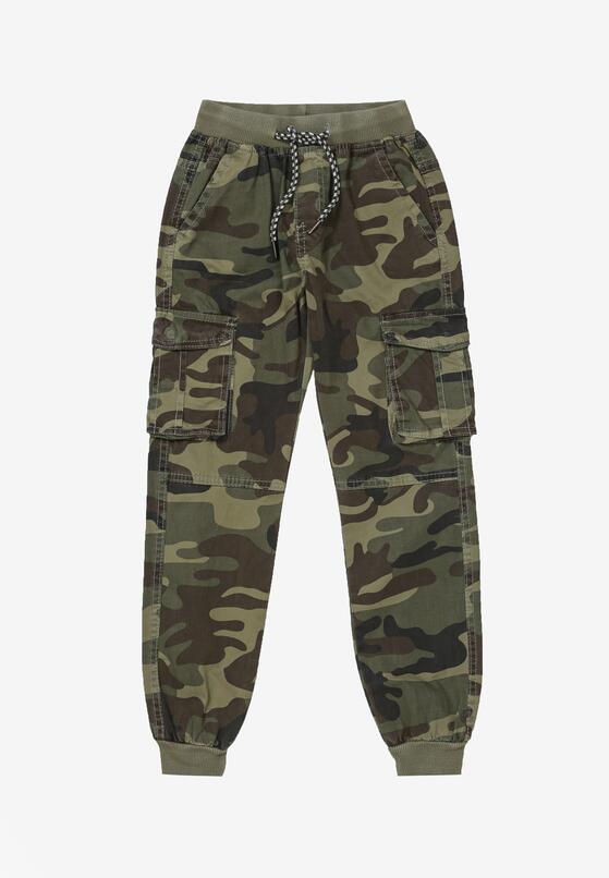 Zielone Spodnie Hyrryss