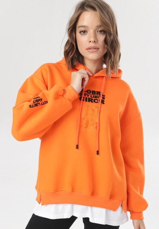 Pomarańczowa Bluza Corealora