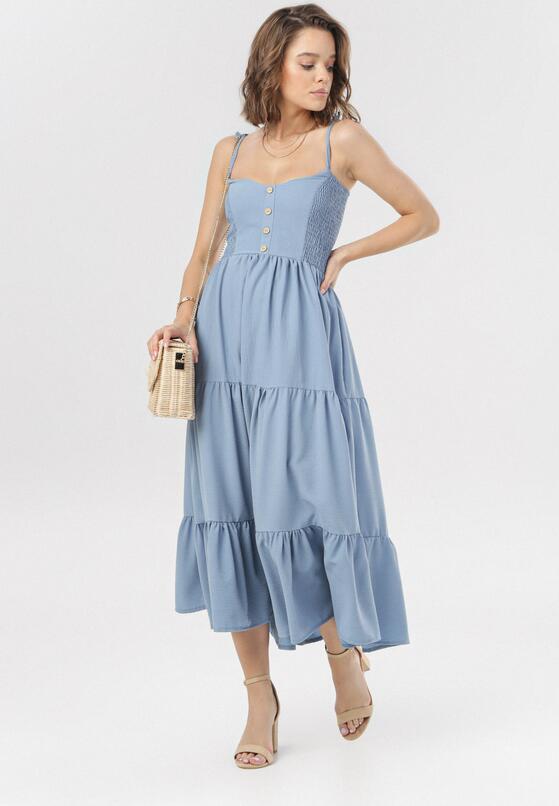 Niebieska Sukienka Ariessyss