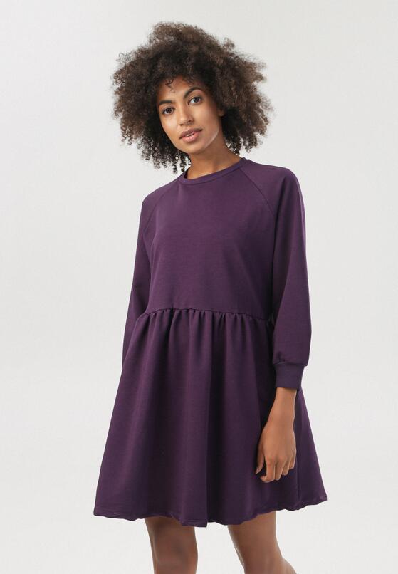 Fioletowa Sukienka Guriel