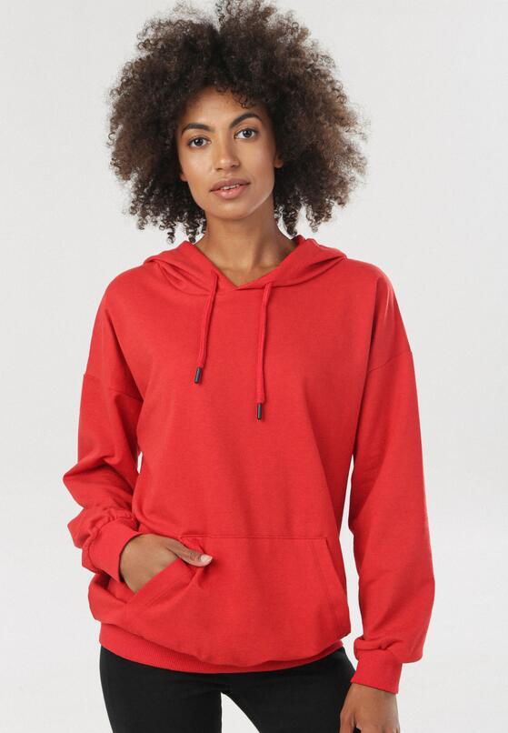 Czerwona Bluza Magnola