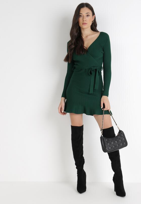 Zielona Sukienka Mhyresh