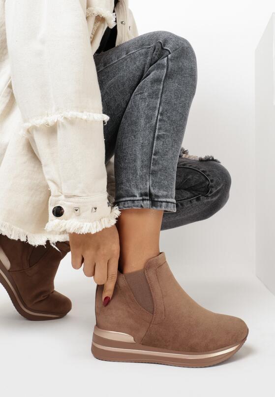 Khaki Sneakersy Chlora