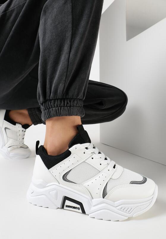 Białe Sneakersy Fragaria