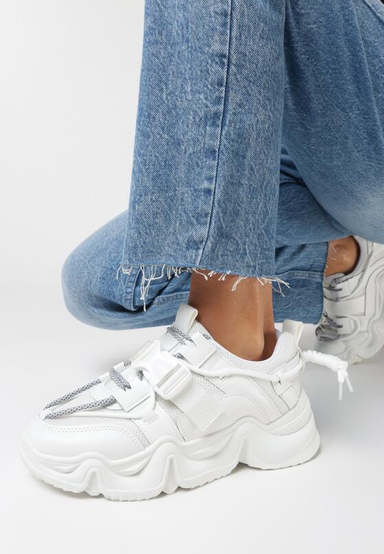Białe Sneakersy Barbarea