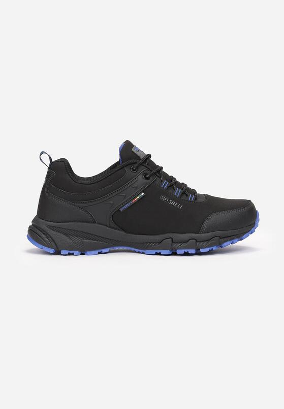 Czarno-Niebieskie Buty Sportowe Jhaerithe