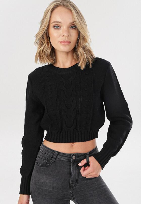 Czarny Sweter Cremia