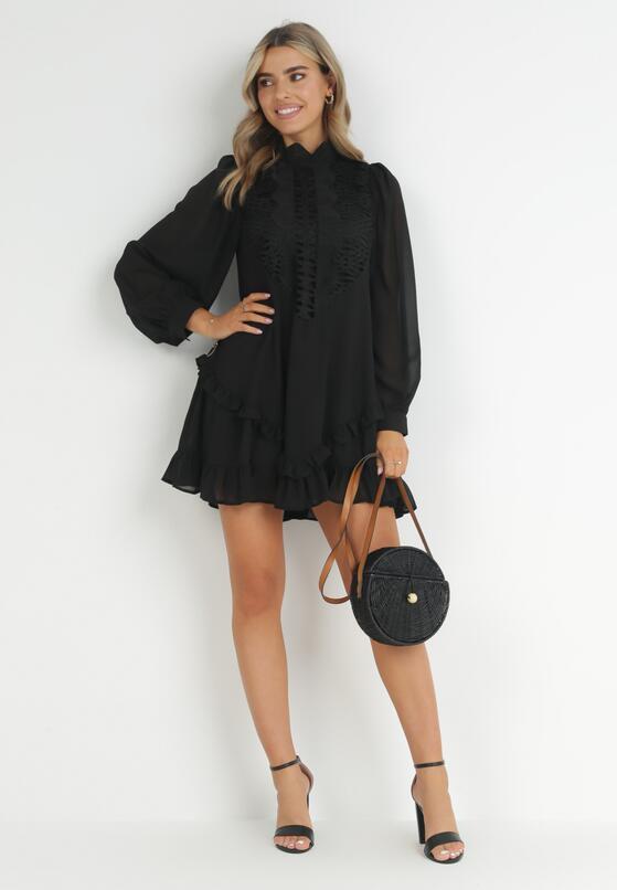 Czarna Sukienka Risora