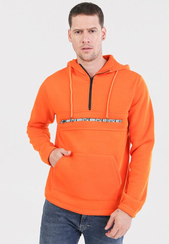 Pomarańczowa Bluza Xenesh