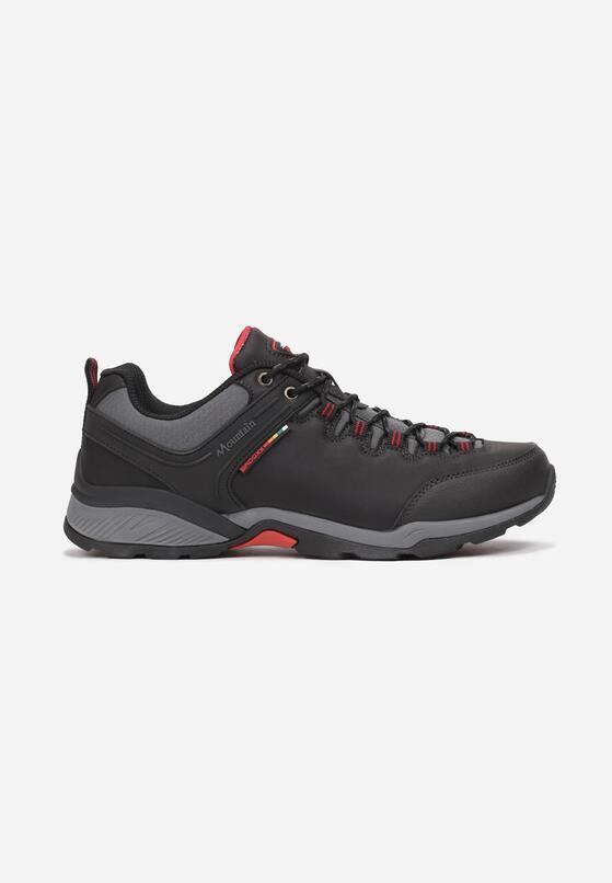 Czarno-Czerwone Buty Sportowe Urilvienne