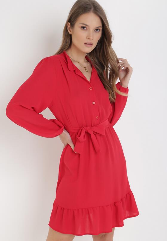 Czerwona Sukienka Berinith