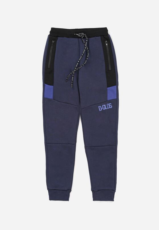 Granatowe Spodnie Drenarah