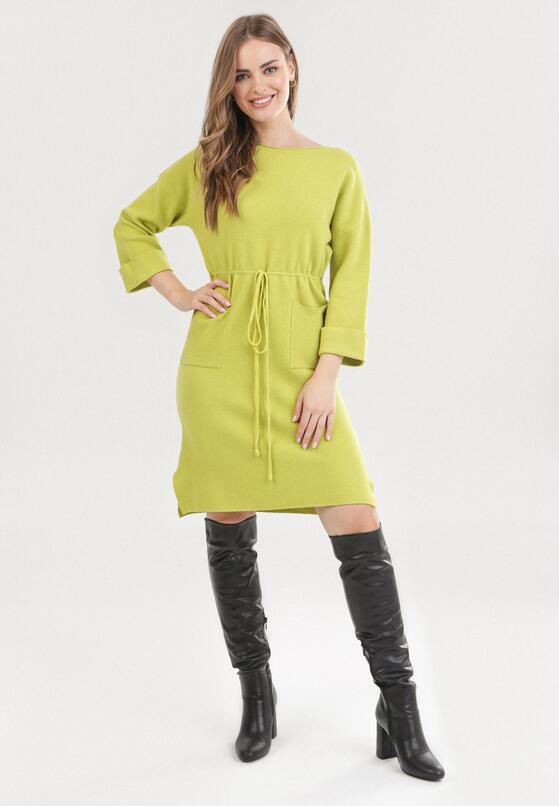 Jasnozielona Sukienka Mezlith