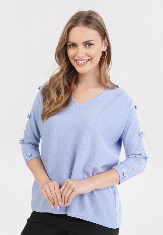 Jasnoniebieski Sweter Lilinorin