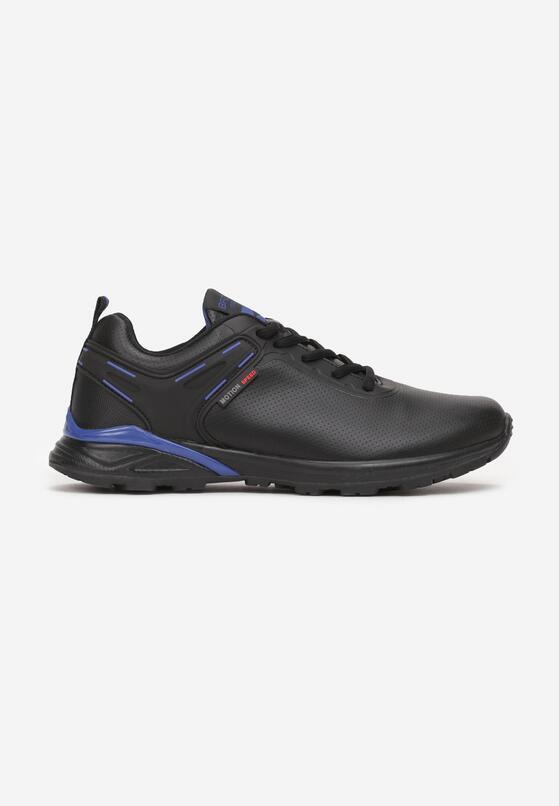 Czarno-Niebieskie Buty Sportowe Usinlyss