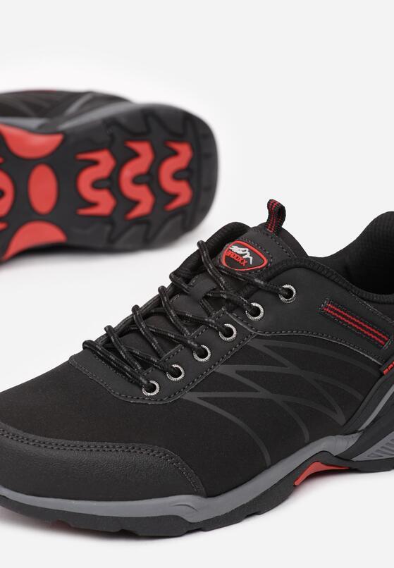 Czarne Buty Sportowe Elinlia