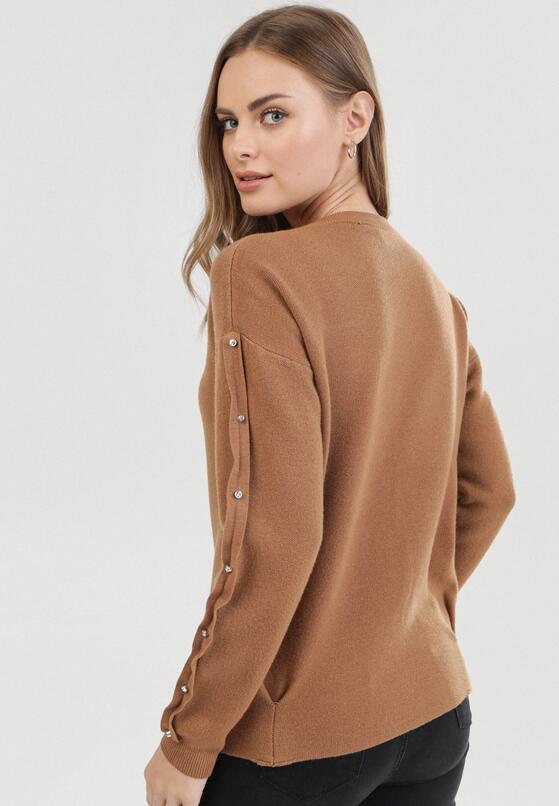 Brązowy Sweter Ginoryera