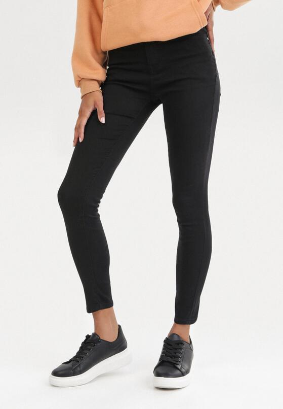 Czarne Jeansy Skinny Eshirlea