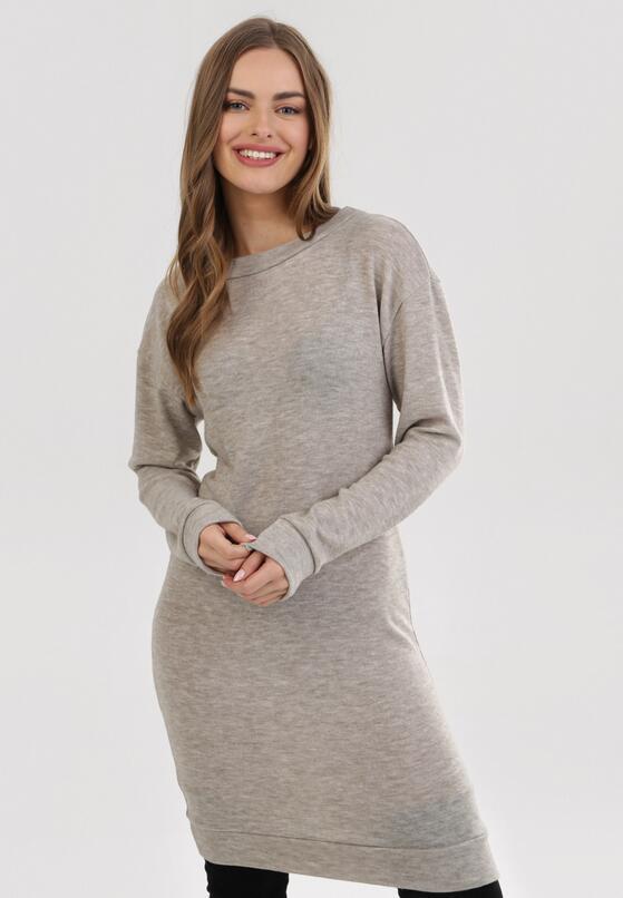 Jasnobeżowa Sukienka Ryrixis