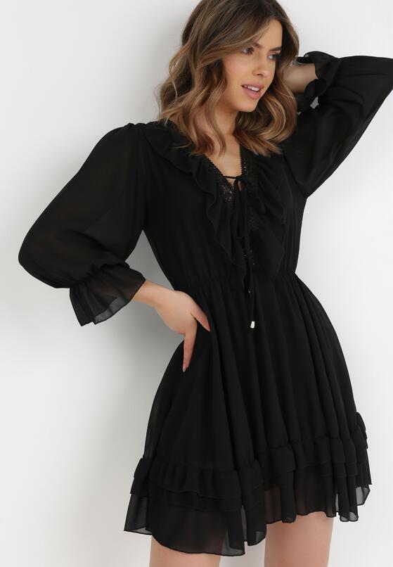 Czarna Sukienka Catsea