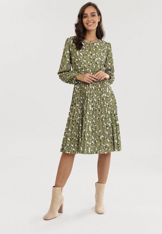 Jasnozielona Sukienka Lynnania