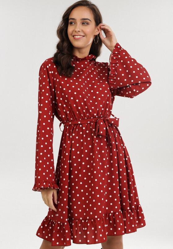 Łososiowa Sukienka Mezerris