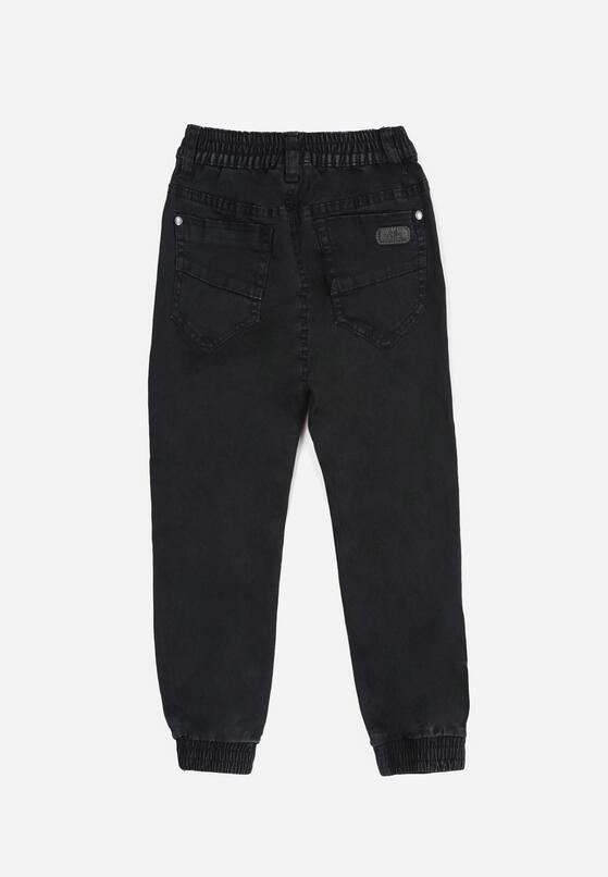 Granatowe Spodnie Joggery Lilinlyn