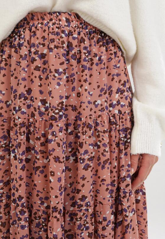 Ciemnoróżowa Spódnica Iriness