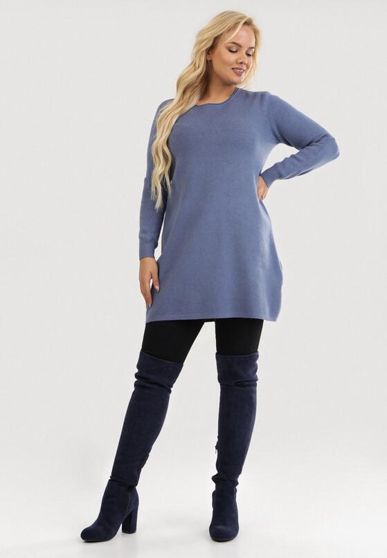 Niebieska Tunika Poreirose