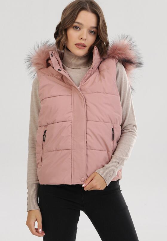 Różowa Kamizelka Evireino