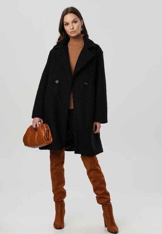 Czarny Płaszcz Saryla